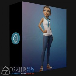 Blender最全最佳流程迪斯尼风格人物角色建模教程