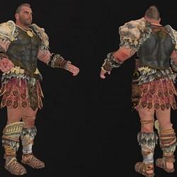 使命召唤 15 黑色行动4 Call of Duty  Black Ops4写实角色模型 次时代 PBR