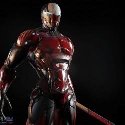 机械战士 PBR 3D 精品模型