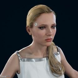 [底特律:变人] 高精度 PBR 女性模型 - 白色套装