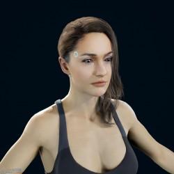 [底特律:变人] 高精度 PBR 女性模型 - 运动套装(二)