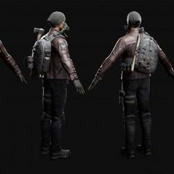 全境封锁 Tom clancy's The Division 汤姆克兰西 角色 武器 载具模型合集