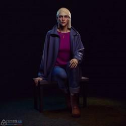 哈萨克斯坦3D艺术家Assel Kozyreva作品欣赏72p 卡通 写实角色 人体
