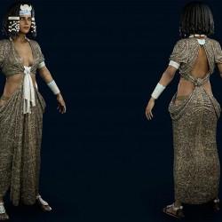 刺客信条:奥德赛 Assassin's Creed Origins 角色模型 写实 次时代 PBR