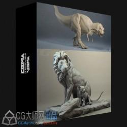 CGMA- ZBrush动物数字雕刻解剖学培训课程