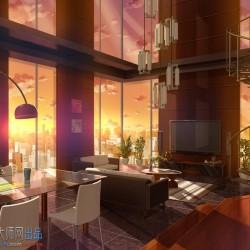 《与魔王的四叠半同居生活》游戏提取CG原画插画角色和场景