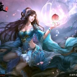 中国古典东方古风妹原画子(附带部分去衣图)