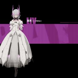 战双·帕弥什带官方绑定3D 女性角色模型