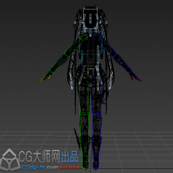战双黎明模型带骨骼绑定