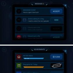 GUI Kit Sci-Fi Blue 1.1 蓝色科幻风格UI界面菜单