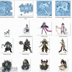 少侠逆天改命 维护人、魔、妖三族的和平 武侠手游美术资料全套