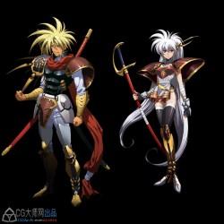 梦幻模拟战UI魔幻二次元动漫风游戏美术资源2840P
