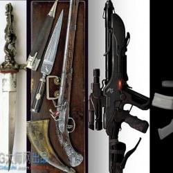 兵器参考图,让它们成为你画图的武器库 约2917张!
