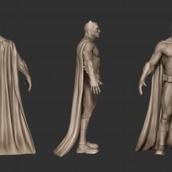 Zbrush雕刻蝙蝠侠3D角色模型教程 - Batman 3D Character Tutorial