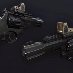 Maya与SP游戏枪械完整制作流程大师级视频教程