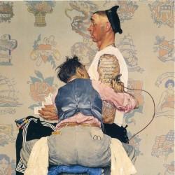 【插画】Norman Rockwell(美国20世纪重要画家及插画家)