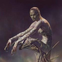 惊艳!在妹子、丧尸之间自由切换 的大神画师 Christophe Young作品欣赏