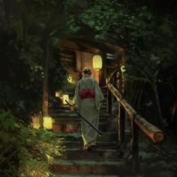 视觉享受!奇幻诡秘风CG原画插画!画师Le Vuong作品欣赏