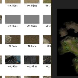 传奇大地图序列素材2d