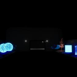 免费虚幻4 UE4 赛博朋克虚拟投像效果特效资源包 Cyberpunk FX Pack