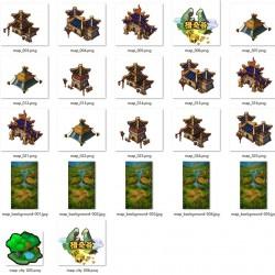 手游类-女神三国志-全套2D美术资源 PNG格式