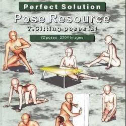 Allposebook sitting 坐姿 参考360度