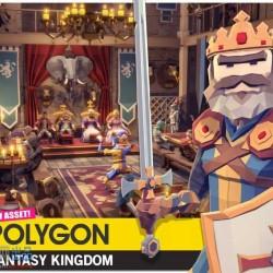low poly-POLYGON -Fantasy Kingdom Pack风格的幻想王国全套模型
