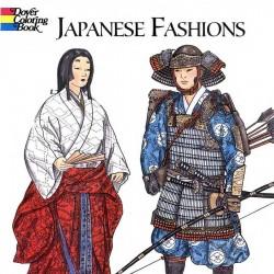 Japanese Fashion 日本人时尚 Ming-Ju Sun 日本古典服装线稿资源下载