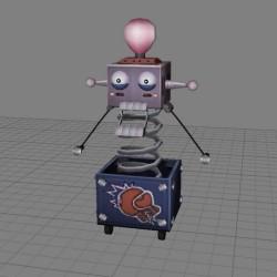整蛊道具机器人有动画
