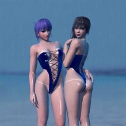 3D角色设计师 RadiantEld 精美有性感美图