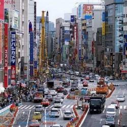 东京街道 日本动画 街道 城市 场景 摄影画集 游戏动漫 资料原画 美术素材