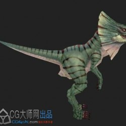 绿色恐龙一只