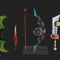 燃烧的远征-橙色武器集合