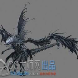 鸟龙3d模型
