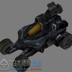 恶棍战车3d模型