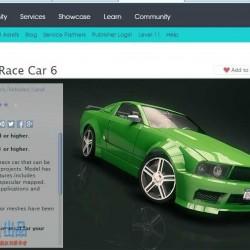 UNITY 跑车 豪车 汽车模型 资源整合