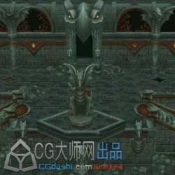 火炬之光地下城 巨龙堡垒3d模型