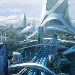 超现实文明几何艺术建筑场景3D模型合集