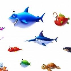 《捕鱼达人3》鱼的模型+动画