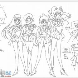 美少女战士 1-5部综合版 设定资料集