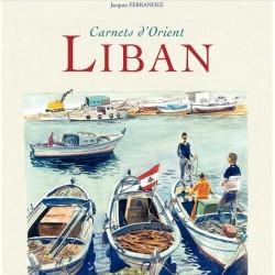 Carnets d'Orient - Liban 全一册 Jacques Ferrandez 城市色彩速写手绘画集