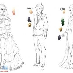 动漫少女服饰设计PS绘画实例训练视频教程