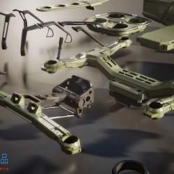 Kitbash3d - 无人机 Veh Drones