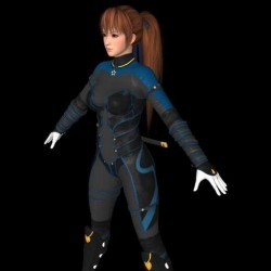 死或生6 KASUMI(霞) 服饰C4 XPS模型