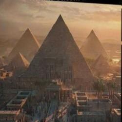 埃及金字塔古城建筑群相关3D模型合集