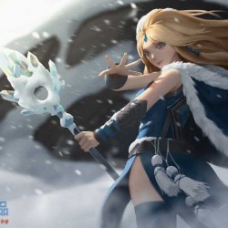 [Spine资源] Crystal Maiden 资源分享