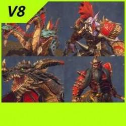 【魔兽争霸3-重制版】中立单位-野怪-怪物合集-Unity-FBX-MAX V8