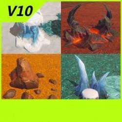【魔兽争霸3-重制版】【石头合集】-Unity-FBX-MAX V10