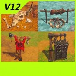 【魔兽争霸3-重制版】【兽人物件】-Unity-FBX-MAX V12