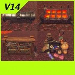【魔兽争霸3-重制版】【矮人】【地牢】物件-Unity-FBX-MAX V14